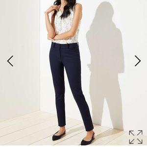 NWT LOFT Marisa Style Skinny Ankle Length Pants